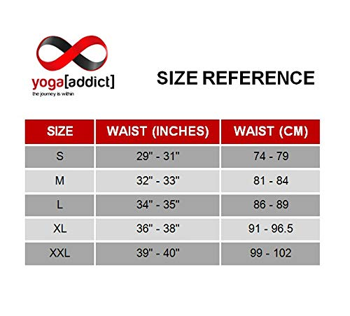 YogaAddict Men Yoga Shorts, Comfortable Pants, For Any Yoga, Pilates, Outdoor
