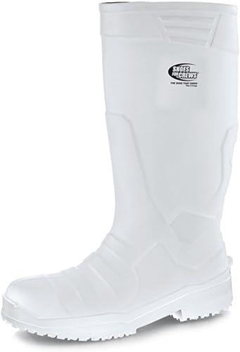 Chaussures Chaussures pour Crews PU Sentinel, Bottes Unisexe, 4Taille, Blanc  livraison gratuite!