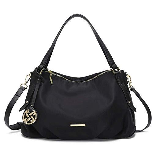 Casual dames handtas, waterdichte nylon doek schoudertas reistas Messenger tas boodschappentas, geschikt voor werk winkelen dating