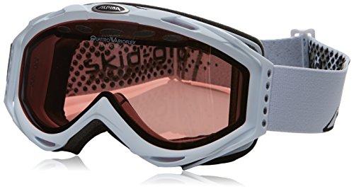 ALPINA Uni Skibrille Cybric GTV für Wintersport weiß Weiß one Size