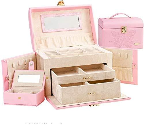 Exhibición de la joyería grande / caja de regalo del organizador del...