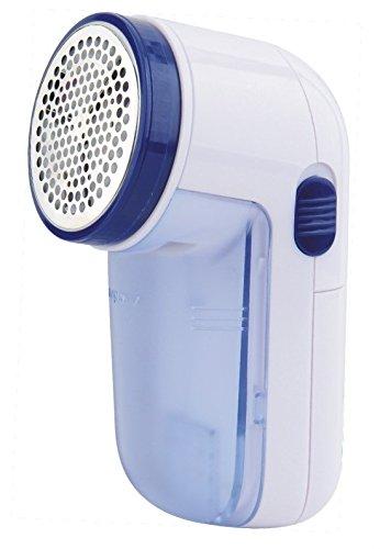 Pritech - Quitapelusas eléctrico adecuado para todas las prendas, con orificios de 3 tamaños en la rejilla para pelusas de cualquier tamaño (14cm)