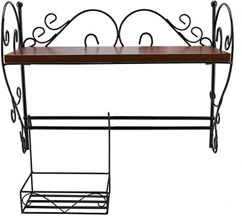 Fantastic Prices! Kitchen Storage Rack Stainless Steel Wall-Mounted Multi-Function Storage Rack with...