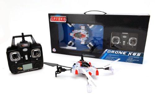Spidko 36597 - Elicottero a 4 Eliche Radiocomandato