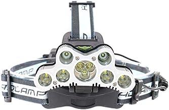 Hoofd Zaklamp 10 stks Super Heldere LED Koplamp USB Oplaadbare Hoofd lamp LED Koplamp