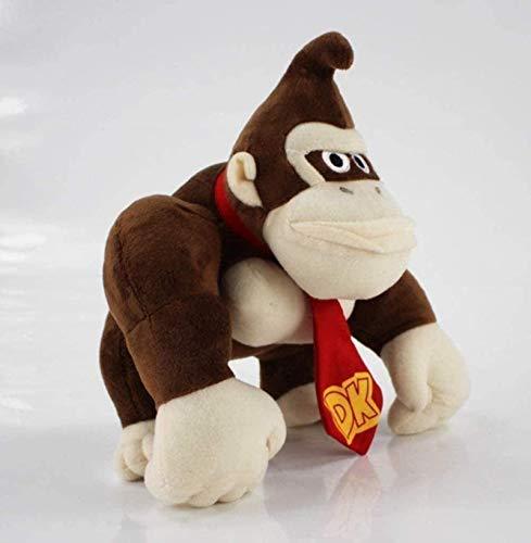 DINEGG Teddy Spielzeug Super Mario Bros AFFE Esel Kong Diddy Kong Weiche Baumwolle Gefüllte Puppe Nette Spielzeug Kinder Geschenke 25cm Wohnkultur YMMSTORY