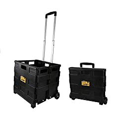commercial Olympia Tools 85-010 Grand Pack-N-Roll Portable Tool Bag, with telescopic handle, £ 80. download… carrier on wheels
