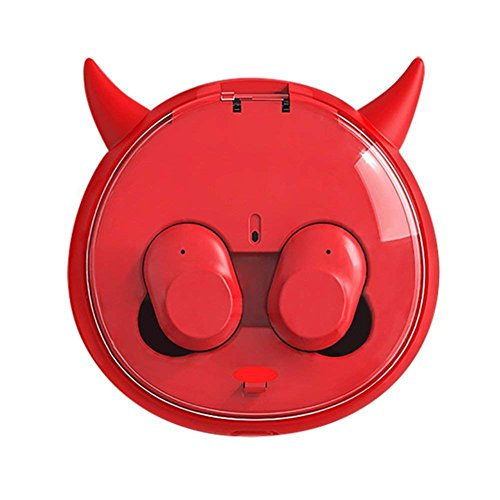 Hellodigi Mini audífonos invisibles con control táctil
