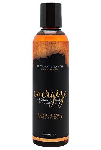 Intimate Earth Energize Massage Oil Aceite de Masaje - 240 ml