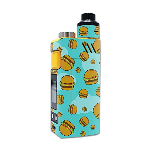 MightySkins Skin Compatible with iJoy RDTA Box 200W – Burger Heaven | Protective, Durable, and Unique Vinyl Decal wrap Cover | Easy to Apply, Remove, and Change Styles | Made in The USA