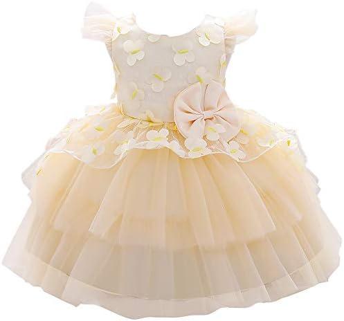 Formal Prom Pageant Wedding Easter Girls Dresses A line Knee Length Tutu Ruffle Dress Princess product image