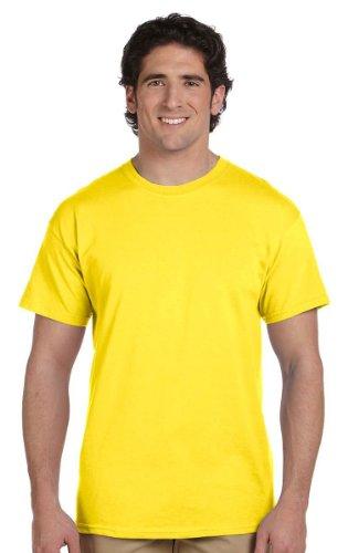 ComfortBlend EcoSmart Crewneck Herren T-Shirt_Gelb_3XL