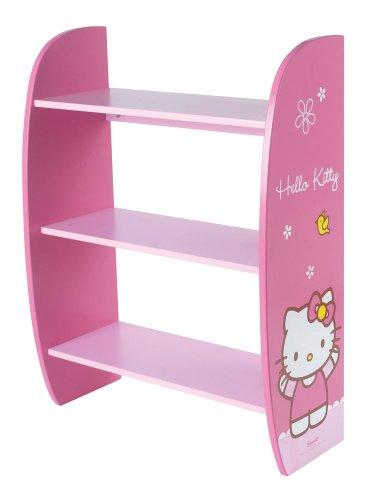 cijep - 711471 - Ameublement Et Décoration - Etagère En Bois Hello Kitty Bow - 70 X 50 X 23 Cm