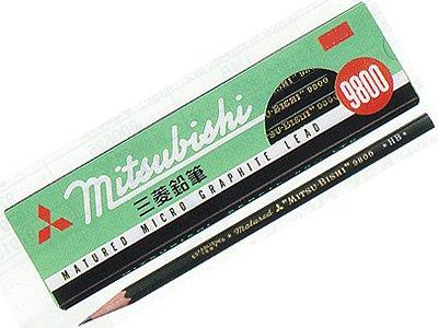 三菱鉛筆『事務用鉛筆 9800』