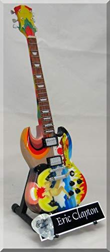 ERIC CLAPTON Guitarra miniatura con púa de guitarra FOOL CREAM