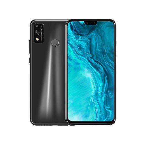 Honor 9X Lite Smartphone, 4GB RAM 128GB ROM cellulare, 6.5''Full HD+ 48MP Telecamera,NFC Dual Sim,Sblocco viso e impronte digitali, con auricolare classico,Nero