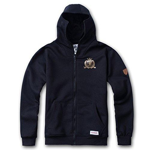 Tex-Ha PG Wear Crown Fussball Football schwarz Ninja Kapujacke (XL)
