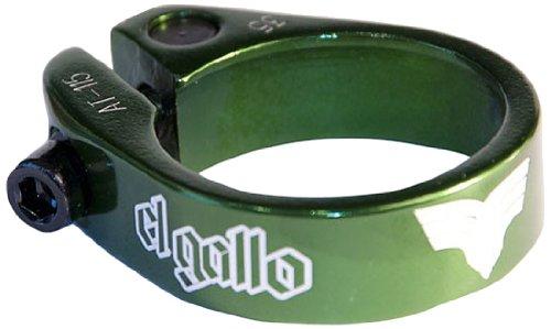 El Gallo Components 14SC-82-G - Cierre de sillín para Bicicleta, Color Verde