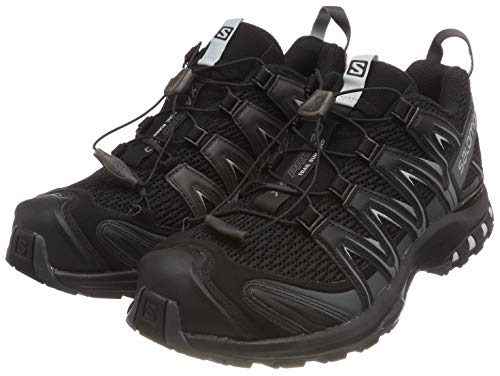 Salomon Herren Trail Running Schuhe, XA PRO 3D, Farbe: schwarz (Black/Magnet/Quiet Shade) Größe: EU 49 1/3