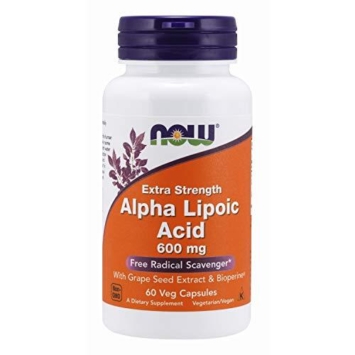 NOW Foods Alpha Lipoic Acid 600mg, 60 Vcaps