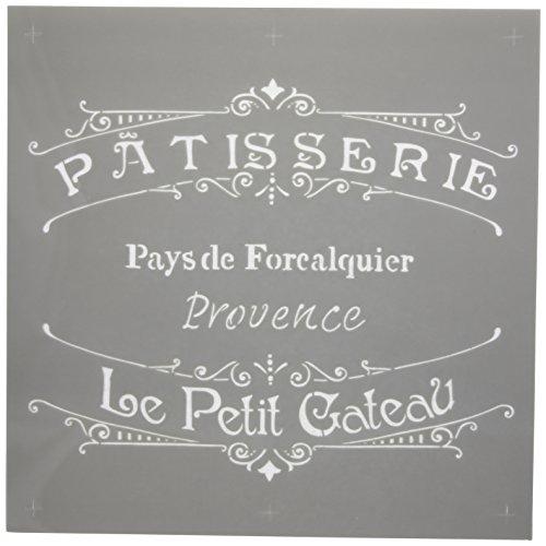 Americana Decor Stencil, la panetteria Francese