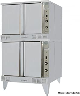 Garland SCO-GS-20ESS Sunfire Gas Double Deck Convection Oven with Solid State Controls & Energy Star Certification