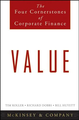 Value The Four Cornerstones of Corporate Finance product image