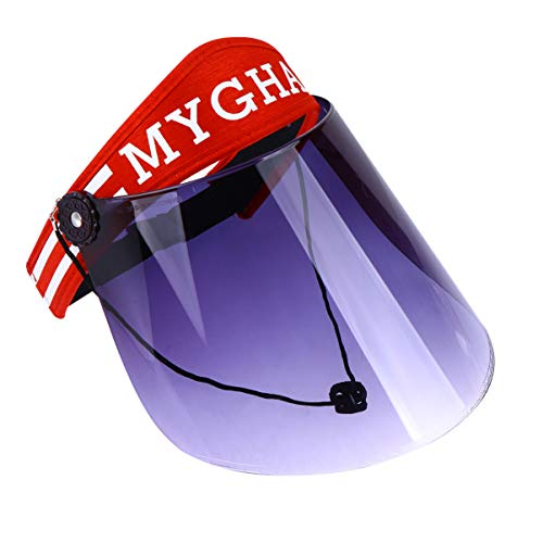 PRETYZOOM Protección Ultravioleta Gorra de Visera de Sol Sombrero de Visera de...