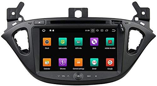 MIVPD Coche Estéreo GPS Navegación Compatible con Corsa 2015 2016 Auto Audio Player Android Head Unit Sat Nav MP5 Player FM Radio Receptor SWC 7 Pulgadas Pantalla Táctil,4 Core 4G+WiFi 2+32GB