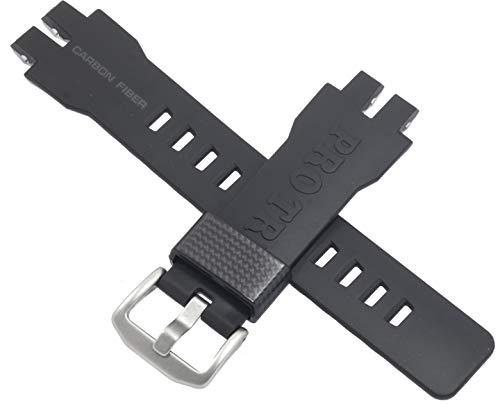 Casio Uhrenarmband Carbon Fiber Schwarz/Grau PRW-6000 PRW-6000Y PRW-3000 10466811