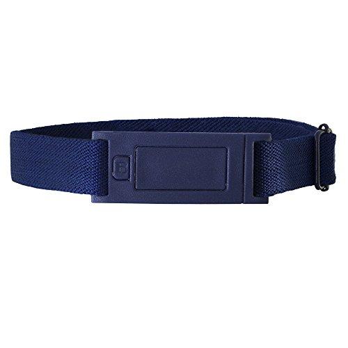 Beltaway Narrow Women's Belt, Skinny No Show Adjustable Stretch Belt DENIM One Size (0-14)