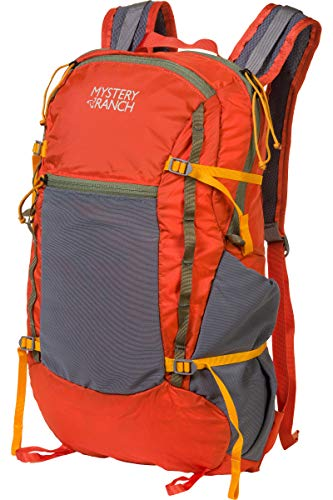MYSTERY RANCH In and Out Packable Backpack - Lightweight Foldable Pack, Flame, 19L