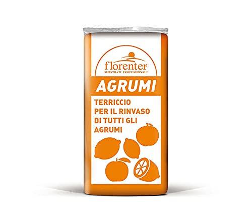 Terriccio per agrumi di alta qualità Florenagrumi in sacco da 50 litri