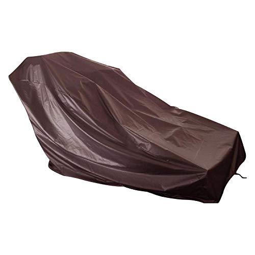 WAGX Cubierta Impermeable Cinta de Correr, Deportes máquina Corriente a Prueba de Polvo Cubierta para Exterior - 210D Oxford Tela, Lluvia y Resistencia Sol - para la mayoría de los Modelos,Marrón,S