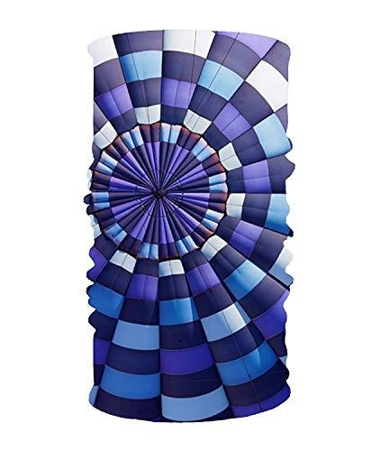 CHSUNHEY Bandeaux,serre-têtes,Hot Air Balloon Elastic Cool Seamless Magic Scarf Headband,Face Mask,Balaclava Bandana UV Resistence Sport Headwear for Outdoor Sports