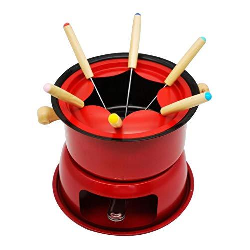 Olla eléctrica de acero inoxidable para fondue | Olla caliente multifuncional de...