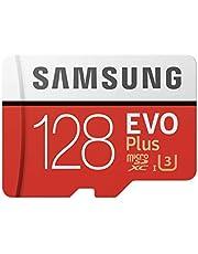 Samsung Evo Plus Carte mémoire Micro SD SDXC Classe 10 128Go U3 100 Mo/S (MB-MC128HA APC)