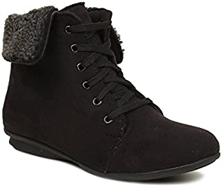 Bruno Manetti Women's Black Suede Leather Boots