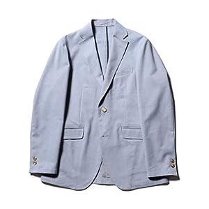 (ノーリーズ グッドマン) NOLLEY'S goodman 綿麻COOLMAX オックステーラードジャケット 9-0086-2-75-027 M ライトブルー