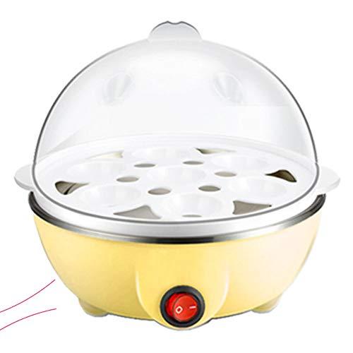 Eierkocher, Multifunktionsmini Dampfer-Wilderer Küche kochenden Werkzeug Eierkocher Küchenutensilien,Gelb