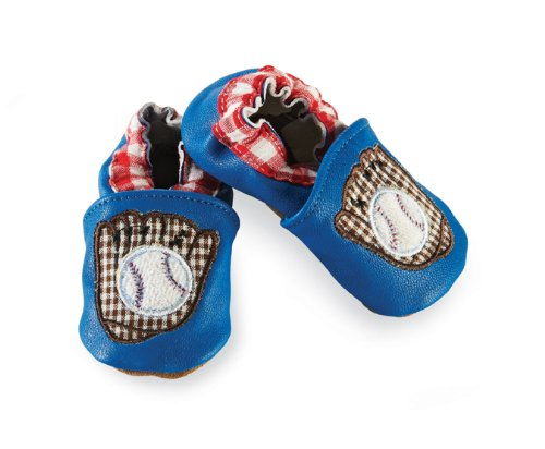 Mud Pie Baby-Boys Newborn Baseball Shoe Socks - Multi-colored - 0-6 Months