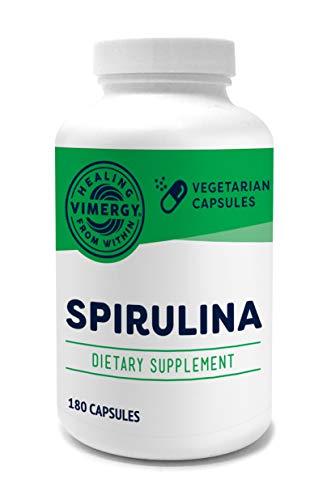 Vimergy USA Grown Spirulina Capsules (180 ct)