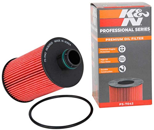 K&N Premium Oil Filter: Designed to Protect your Engine: Fits Select 2014-2018 DODGE/JEEP/RAM (1500,...