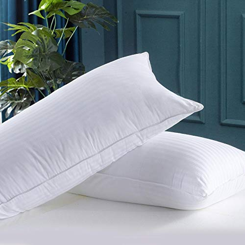 WhatsBedding Bed Pillows for Sleeping, Queen Size Pillow Set...