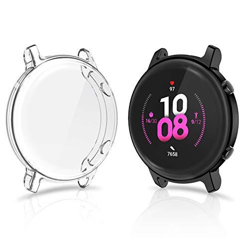 CAVN Pellicola Protettiva Compatibile con Huawei Watch GT 2 42mm Custodia [2-Pezzi], TPU Pellicola...