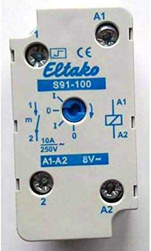 Eltako ELTA Stromstossschalter S91-100-8V