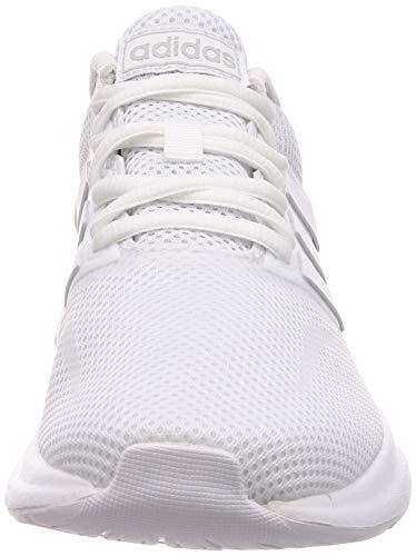 adidas RUNFALCON, Zapatillas de Trail Running Mujer, Blanco (FTWR White/FTWR White/Core Black), 40 EU