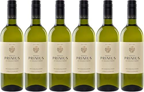 Weissburgunder Südsteiermark 2019 - Paket mit 6 Flaschen - Weingut Primus