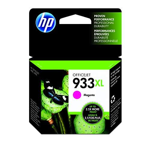 HP 933XL CN055AE, Magenta, Cartucho de Tinta Alta Capacidad Original, compatible con impresoras de inyección de tinta HP OfficeJet 6100, 6600, 6700, 7110, 7510, 7610, 7612