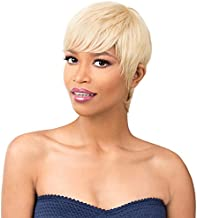 It's A Wig! - it's a Cap Weave! 100% Human Hair Full Wig - HH MON AMI (613 - Platinum Blonde)